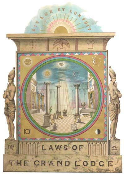 frontispiece Grand Lodge of Scotland